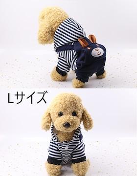 0144 ペット服 クマ L