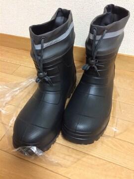 軽量長靴 カバー付き ショートタイプ 反射テープ付