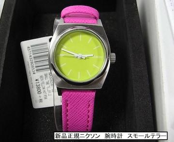 正規未使用ニクソン タイムテラー  腕時計 レディース