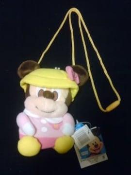 ミニーちゃんディズニーがま口新品タグギャル