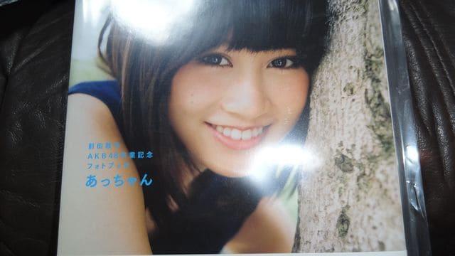 即決 前田敦子 AKB48 卒業記念フォトブック『あっちゃん』 新品 < タレントグッズの