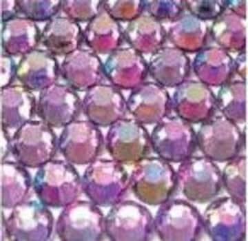● 4mm ● デコ用ストーン  2000粒 ライトパープル