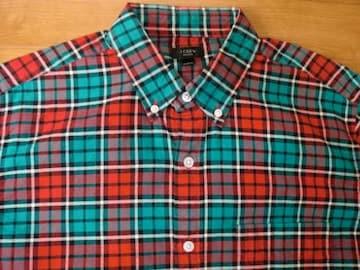 J.CREW ジェイクルー OX BDシャツ USA−Mサイズ