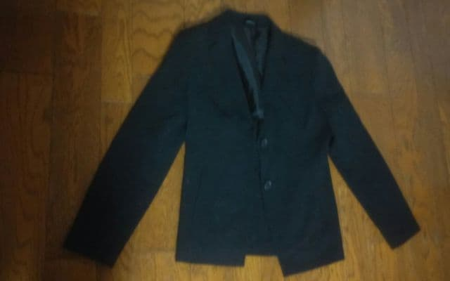 ignimoh's 黒 ジャケット 7AR 美品  < 女性ファッションの