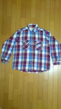 70年代 FIVE BROTHER チェックネルシャツ