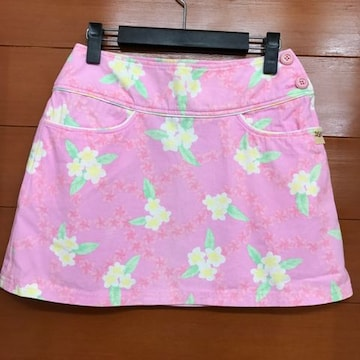 レア!アルバローザ★ミニスカートプルメリアリゾートロキシー系