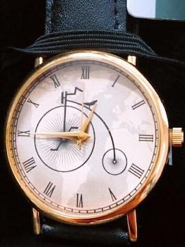 アンティーク 自転車 バオサイリ 腕時計