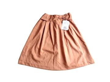 新品 定価5990円 Couture brooch 膝丈 フレア スカート XS