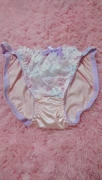 ☆.。.*pink×ラベンダ〜 刺繍ぱんてぃ M*.。.☆