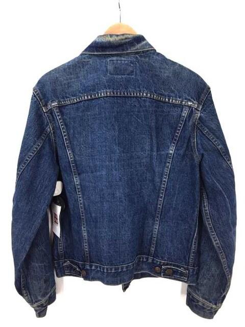 Levis(リーバイス)70505 ヴィンテージ 4th スモールe ボタン裏522デニムジャケット < 男性ファッションの