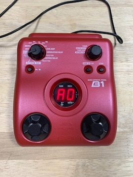 ZOOM B1 電池ボックス蓋なし 中古品