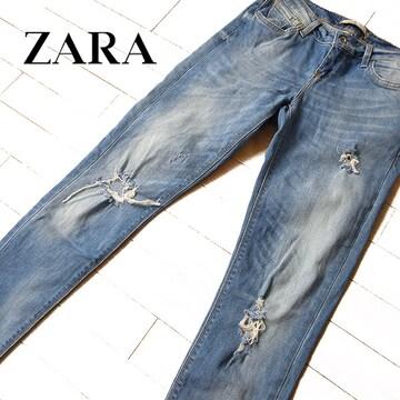 美品 (EUR)36 ザラ ZARA Z1975 スキニーデニム