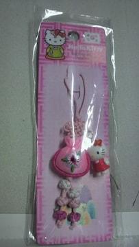 ハローキティ 韓国キティストラップ 新品