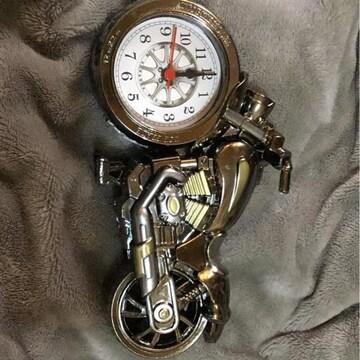送料込バイク型置き時計?カッコいい