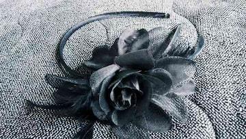 ☆黒薔薇☆カチューシャ☆