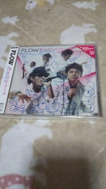 新品Around the world|KANDATA』 CDシングル]FLOW  < タレントグッズの
