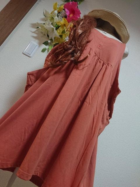 ★新品タグ8L★キャミチュニ★カットソー  < 女性ファッションの