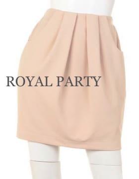セール●定価7,452円●ROYAL PARTY  横うねタックタイトスカート