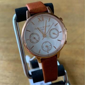 オリビアバートン 腕時計 レディース OB16CGM64 ホワイト