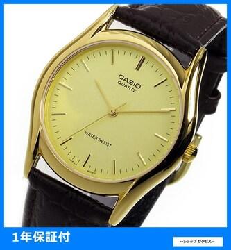 新品 即買■カシオ スタンダード 腕時計 MTP-1094Q-9A ゴールド