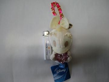 新品未使用☆ディジー(ドナルドダック)キーホルダー値下