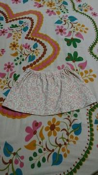 キッズ?COMME CA ISM/コムサイズム?小花柄 スカート 80�a