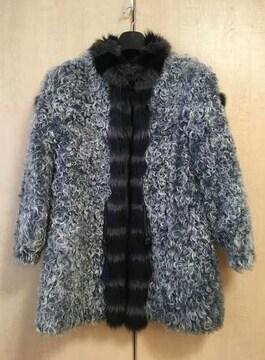 □美品【ハーフコート】襟元はミンクになります□