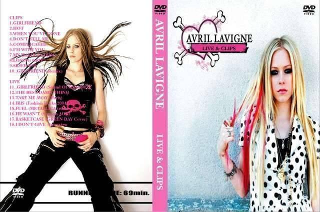 AVRIL LAVIGNE LIVE&CLIP アヴリルラヴィーン プロモ PVMV  < タレントグッズの