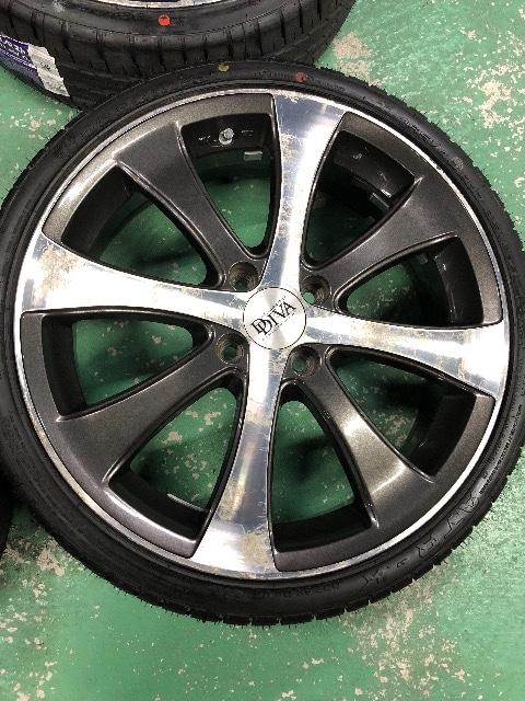 6081222)ロクサ-ニダブルフェイスディスク軽カ-新品タイヤセット165/40R17送料無料 < 自動車/バイク