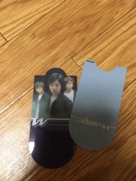 w-inds. NEWPARADISE CD特典ブックマーカー龍一・難アリ