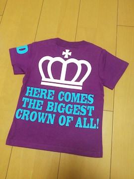 新品袖BDTシャツ紫80ベビードールBABYDOLLベビド