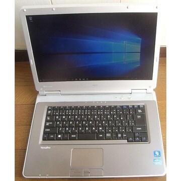 NEC ノートPC VK29H/D i7 3520M 8G 256G Win10