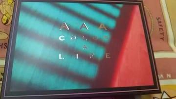 AAA・CD・COLOR A LIFE(初回限定版)