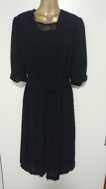 ハイファッション9号喪服ワンピース礼服  < 女性ファッションの