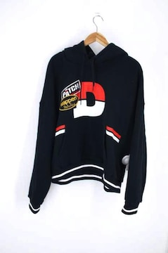 doublet(ダブレット)別注 CHAOS PATCHES HOODIEプルオーバーパーカー