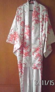 ∞紅葉模様の小紋の着物