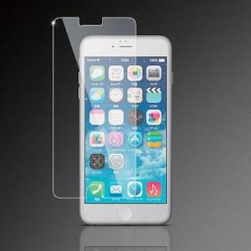 ☆ELECOM iPhone 6 Plus用 液晶保護フィルム/ガラスライク