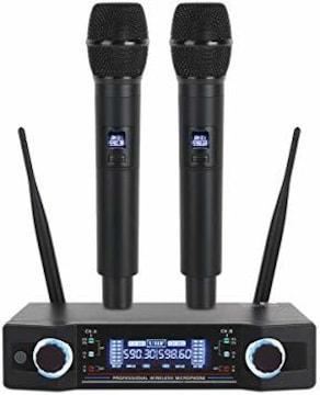 OWLVIEW UW100 UHFワイヤレスマイクデュアルチャンネルプロフェ
