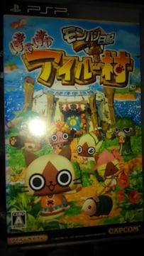 PSPソフト モンハン日記  ぽかぽかアイルー村 取説あり