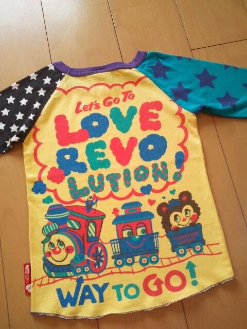 LoveRevolutionラブレボリューション120パンディ 汽車ポッポロンT < ブランドの