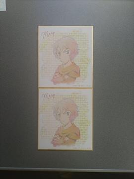 名探偵コナン メアリー Ani-Artミニ色紙 2枚セット