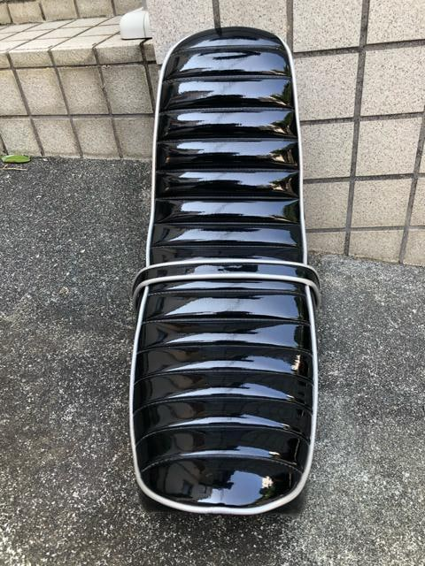 売り切り☆エイプ50用☆キャブ車用☆エナメル三段シート☆