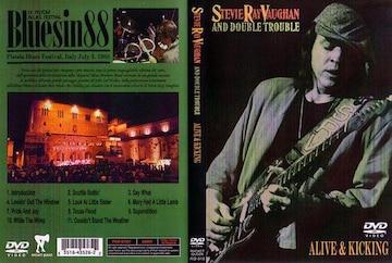 スティーヴィー・レイ・ヴォーン DVD ALIVE & KICKING