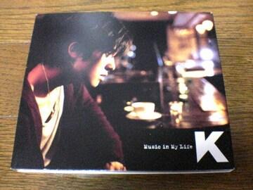 K CD Music in My Life DVD付き韓国K-POP