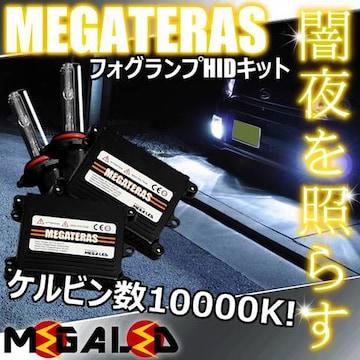 mLED】ランドクルーザーシグナス100/フォグランプHIDキット/H3/10000K