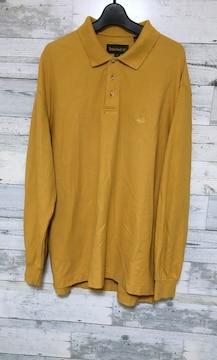 Timberlandティンバーランドヌバックカラーロングポロシャツ