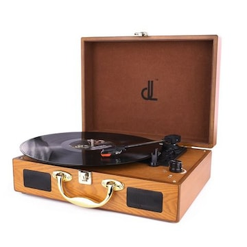 レコードプレーヤー スーツケース型 USB端子