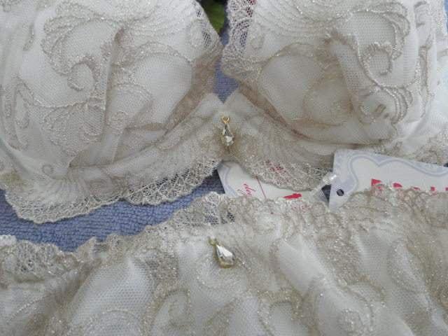 """△.◇""""PinkyAngel^-^キラキラレース♪可愛いブラパン""""◇.△ < 女性ファッションの"""