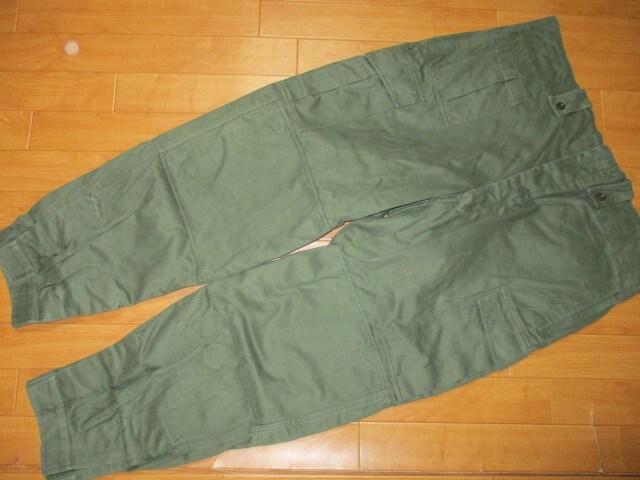 ベルギー軍 M64 ミリタリーパンツ SEYNTEX社 7F 2XL < 男性ファッションの