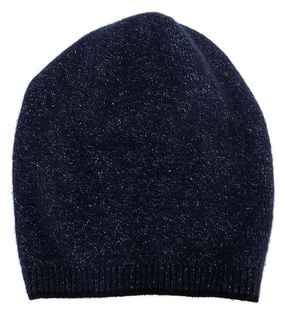 未使用正規シャネル帽子ニット帽ココマークカシミヤニットキャッ < ブランドの